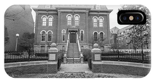 University Of Illinois Harker Hall  IPhone Case