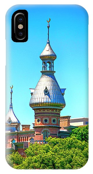 University Of Tampa Minaret Fl IPhone Case
