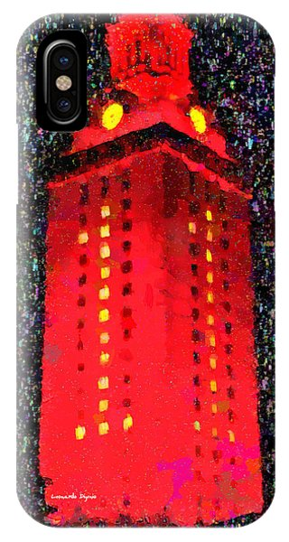 University Of Texas At Austin Tower 11 - Da IPhone Case