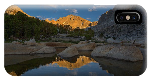 Kings Canyon iPhone Case - University Peak Sunset by Brian Knott Photography