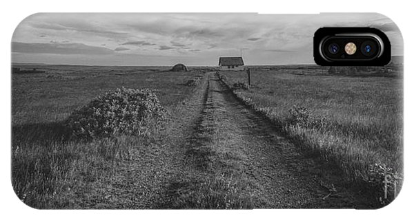 Silo iPhone Case - Unknown Road Bw by Michael Ver Sprill