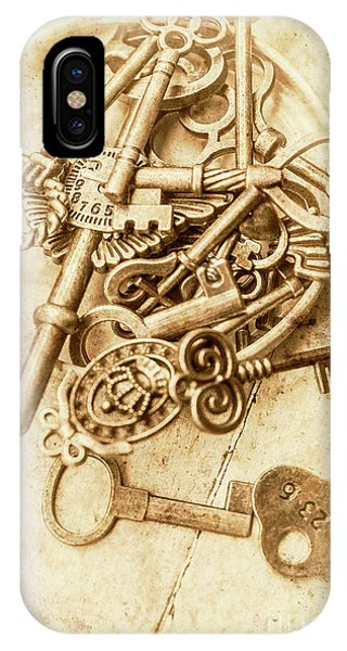 Old Fashioned iPhone Case - Unlocking The Past by Jorgo Photography - Wall Art Gallery