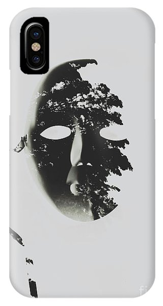 Connections iPhone Case - Unmasking In Silence by Jorgo Photography - Wall Art Gallery