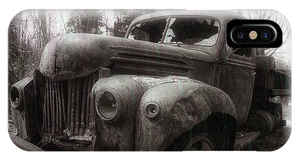 Truck iPhone Case - Unquiet Slumbers For The Sleeper by Jerry LoFaro