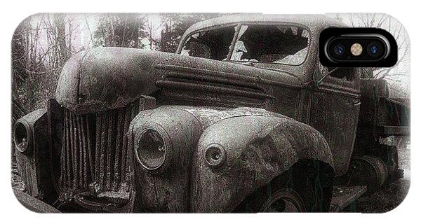 Truck iPhone X Case - Unquiet Slumbers For The Sleeper by Jerry LoFaro