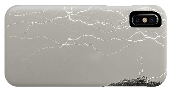 Unreal Lightning IPhone Case