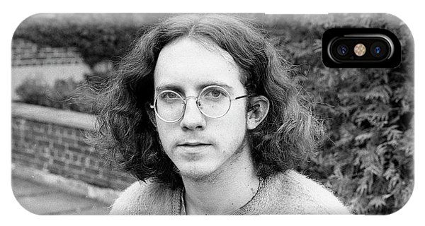 Unshaven Photographer, 1972 IPhone Case