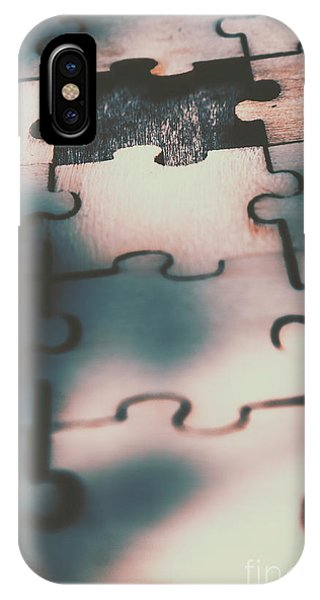 Connections iPhone Case - Unsolved Puzzle by Jorgo Photography - Wall Art Gallery