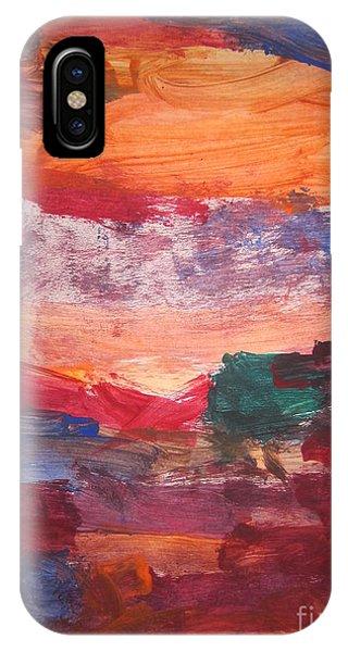 untitled 109 Original Painting IPhone Case