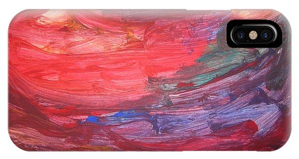 untitled 110 Original Painting IPhone Case