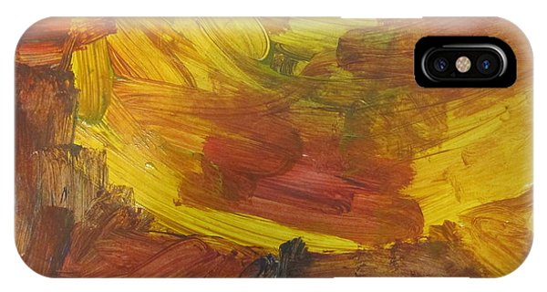 Untitled 117 Original Painting IPhone Case
