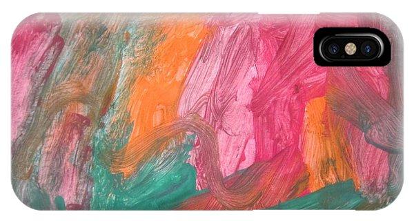 Untitled 119 Original Painting IPhone Case