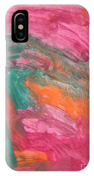 Untitled 121 Original Painting IPhone Case