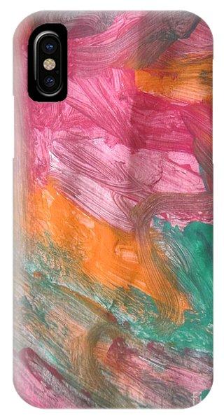 Untitled 122 Original Painting IPhone Case