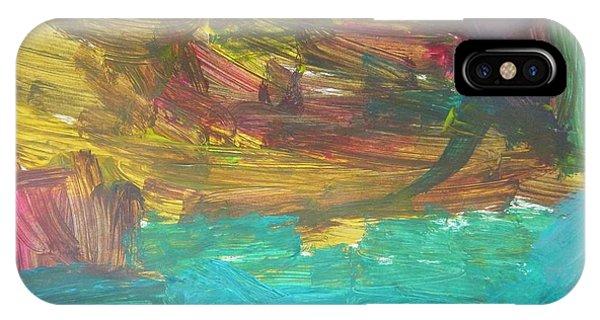 Untitled 126 Original Painting IPhone Case