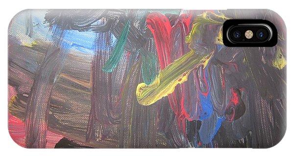 Untitled 128 Original Painting IPhone Case