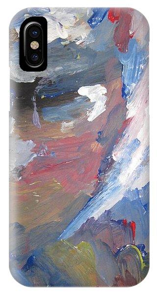 Untitled 141 Original Painting IPhone Case