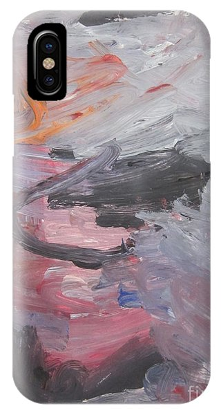 Untitled #35  Original Painting IPhone Case