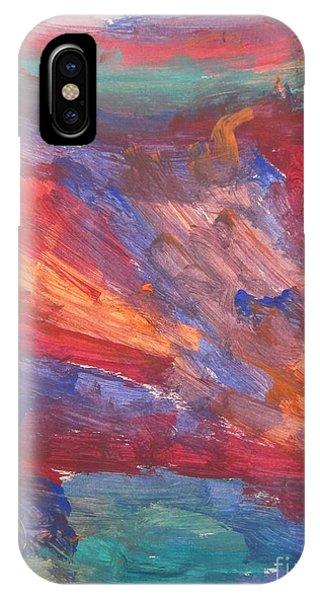 Untitled 95 Original Painting IPhone Case