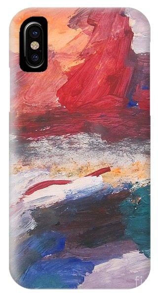 Untitled 98 Original Painting IPhone Case
