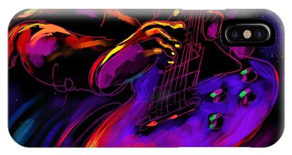 Untitled Guitar Art IPhone Case