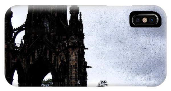 IPhone Case featuring the photograph The Scott Monument by Janelle Dey