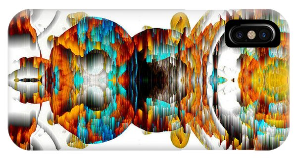 IPhone Case featuring the digital art Untitled Series 992.042212 -b by Kris Haas