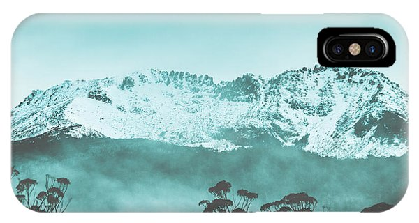 Beauty In Nature iPhone Case - Untouched Winter Peaks by Jorgo Photography - Wall Art Gallery