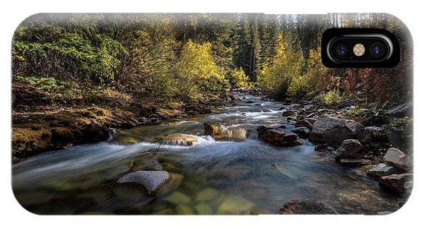 Up A Colorado Creek IPhone Case