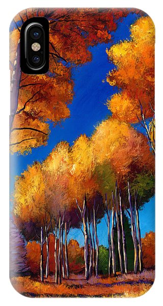 Foliage iPhone Case - Up And Away by Johnathan Harris