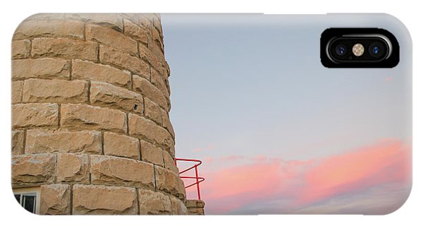 Close-up Detail Of The Cape Moreton Lighthouse IPhone Case