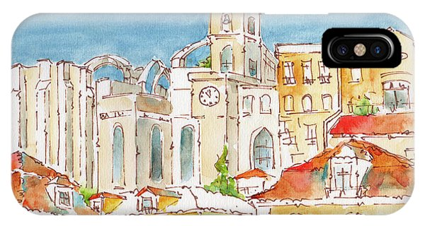 Up From Rossio Square IPhone Case