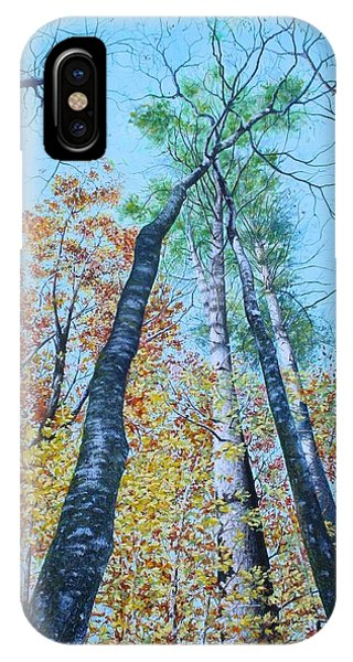 Up Into The Trees IPhone Case