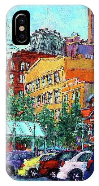 Up On Broadway IPhone Case