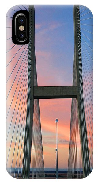 Up On The Bridge IPhone Case