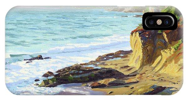 Laguna Beach iPhone Case - Up The Coast by Steve Simon