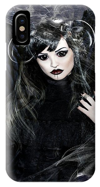 Gothic iPhone Case - Upcoming Events 002 by G Berry