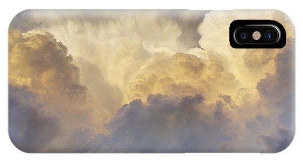 Updraft Of Cotton IPhone Case
