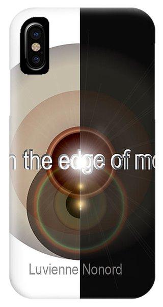 Upon The Edge Of Mercy04 IPhone Case