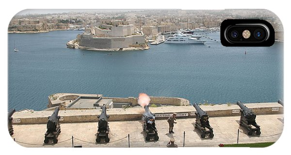 Upper Barrakka Saluting Battery IPhone Case