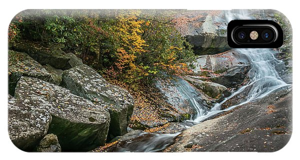 Upper Creek Falls IPhone Case