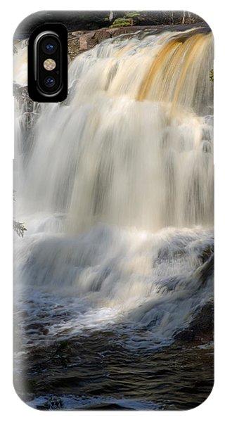 Upper Falls Gooseberry River 2 IPhone Case