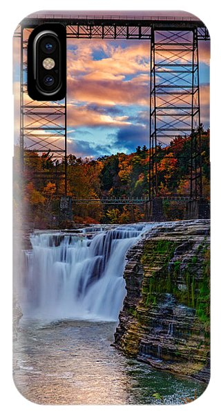 Upper Falls Letchworth State Park IPhone Case