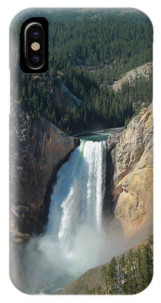 Upper Falls, Yellowstone River IPhone Case