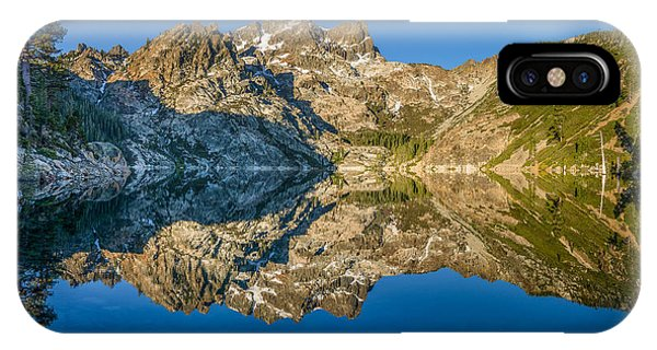 Upper Sardine Lake Panorama IPhone Case