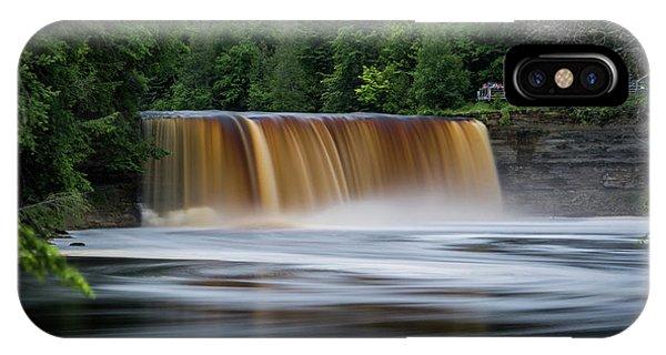 Upper Tahquamenon Falls IPhone Case