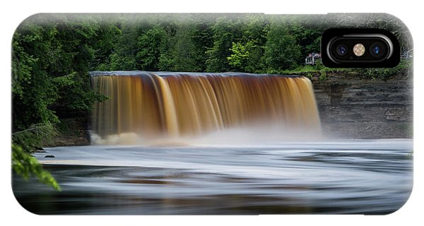 Upper Tahquamenon Falls IPhone Case