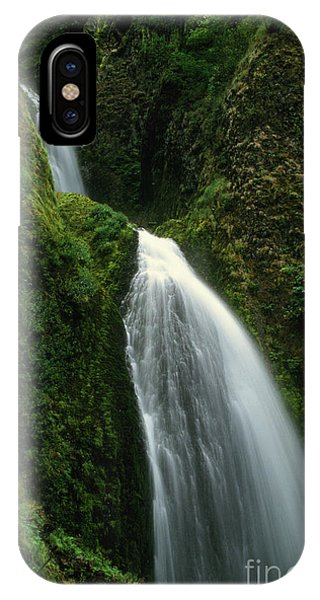 Upper Wahkeena Falls IPhone Case