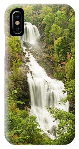 Upper Whitewater Falls IPhone Case