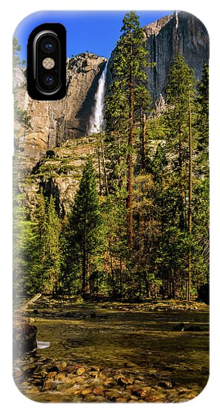 Upper Yosemite Falls From Yosemite Creek IPhone Case
